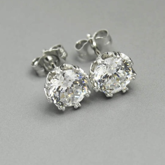 948033e49 QVC TACORI Epiphany DIAMONIQUE 2.35ct Earrings. M_5cc72566b146ccd2369108cb
